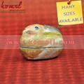 Handpainted animal shapped papel mache( machie papel) e caixas de lembrança- papel mache coelho em forma de ovo de páscoa caixa