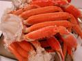 Congelados de nieve cangrejos/patas de cangrejo