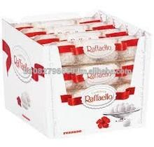 DUPLO and Nutella chocolate spread and TIC TAC, RAFFAELLO
