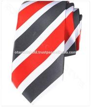 Grey, Red, white tie necktie, neck tie, corbata, gravate, krawatte, cravatta, fashion tie