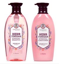 LG Organist Natural Science Herb Vinegar Nutritional Shampoo & Conditioner Cosmetics of Korea