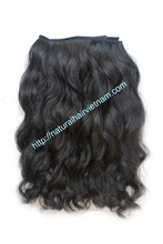 Machine weft hair extention 100% virgin remy Brazilian hair weave New fashion afro Jerry curl hair extention