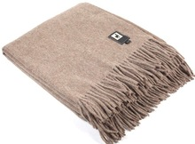 ALPACA WOOL BLANKET - NATURAL COLORS
