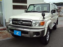YEAR2014 TOYOTA LANDCRUISER 70 BRAND NEW CAR FOR SALE [RHD][JAPAN][STOCK#28044]