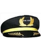 chinesa daron mundial united airlines chapéu de piloto