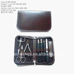 New Luxury Cute Manicure Kit in PU Case-Bestseller