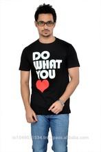 High Quality 100% Cotton Custom Printed Mens Tshirt