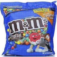 M & M Chocolate Candies Pretzel