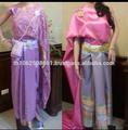 el servicio del oem de suministro tipo adultos y grupo de edad tailandés vestidos tradicionales