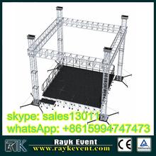 portable aluminum trusses with truss accessory optional.box truss.truss corner