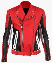Sialkot Pakistan made Outer Wear 2015 FASHION LUXURIOUS QUILTED Mens' LEATHER BIKER JACKET Wholesale apparels wear clothing