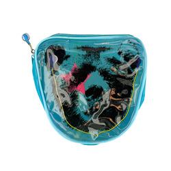 HOT TOP BLUE COSMETIC BAG