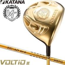 katana golf 2015 model Voltio III driver, graphite design original tour AD shaft specifications