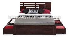 Sheesham Wood Storage Bed