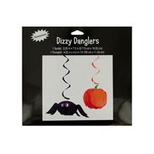 Halloween Spider & Pumpkin Dizzy Danglers