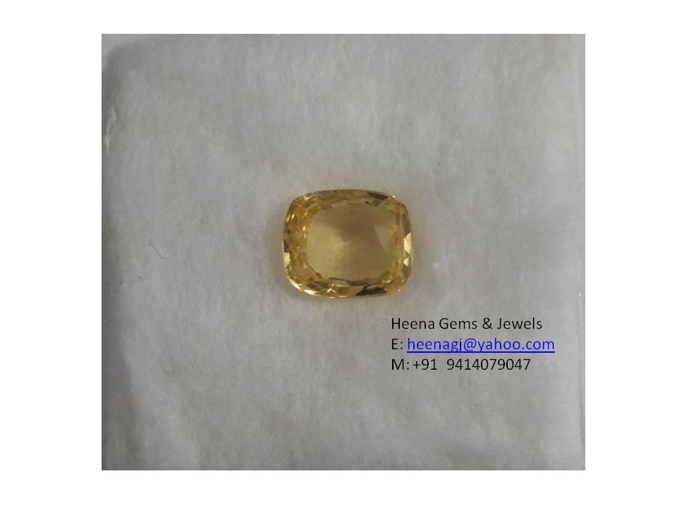 Uncut Yellow Sapphire Yellow Sapphire Ceylon