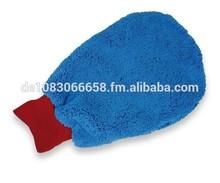 "ALCLEAR microfiber wash mitt ""High Pile"", rim mitt"