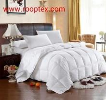 filled cotton satin comforter