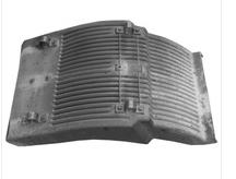 CAR MUDGUARD FOR VOLVO FM12FH12 '99-02 L 8156540R 1623459