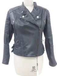 Women leather jacket Motorcycle stylish
