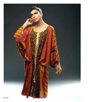 Pakistani Mustard Kurti in exclusive prints with Thread Embroidery.