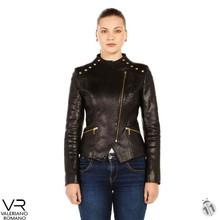 genuine Piton leather jacket for women