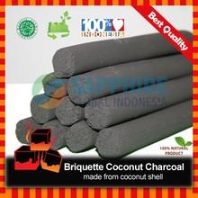 Briquette Coconut Charcoal _ Finger Stick
