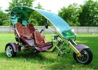 Electric tricycle auto car vehicle