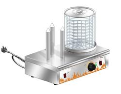 new functional hot dog warmer/hot dog machine