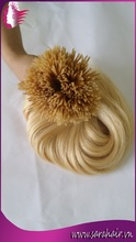 Shopping online websites hair extension 6A quality remy Vietnamese i tip hair extension supplier