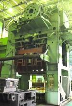 Press ERFURT PKnVT 800/3150 (Double action deep drawing mechanical press)