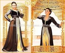 Moroccan Caftan 2015 New Arrivals Eid ul fitr 2015 Orange Color Lush Caftan for Irish Beauty k8128