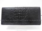 Man's crocodile Hornback bifold wallet