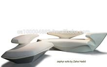 zephyr sofa by zaha hadid