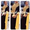 VERONICA 2 TONE Kaftan Abaya Dress Indonesia