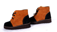 Winter leather shoes for kids