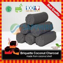 Briquette Coconut Charcoal _ Finger Stick 3.5 CM