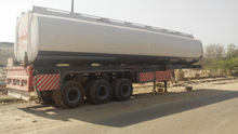 Oil Tanker Truck Trailer