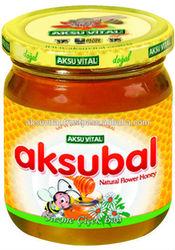 Health Food Natural Honey Aksubal 230 gr Glass Jar Flower Honey Natural Polyflora Honey from Turkey