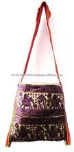 2015 New Arrival Handmade Patchwork Bags Vintage Designer Women Evening hand bag