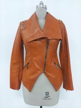 Genuine leather jacket for ladies