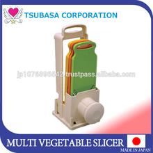 2015 become distributor vegetable & fruit slicer cutter chopper dicer shredder as seen on tv made in Japan cookware for home use