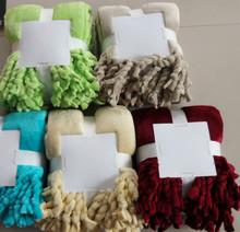 Super Soft Blanket flannl Microfibre Flannel Fleece Throw Blanke