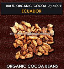 COCOA ORGANIC BEANS,LIQUOR, BUTTER, POWDER, COUVERAGE