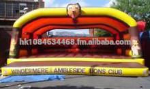 Lion Head Adult Bouncy Castle 13.5'X13.5'