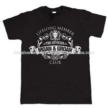 2015 custom t shirt / black t shirt / cotton t shirt for men