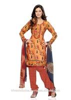 Triveni low price Art Silk Salwar Kameez