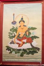 Tibetan Style Manjushree Thangka Painting