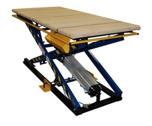 PNEUMATIC LIFTING TABLE ST-3/SF WITH SAFETY FRAME