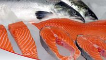 Deep Frozen Salmon Steaks 800grs